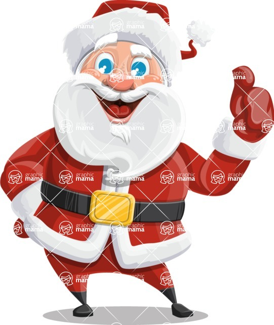 Mr. Claus North-pole - Thumbs up