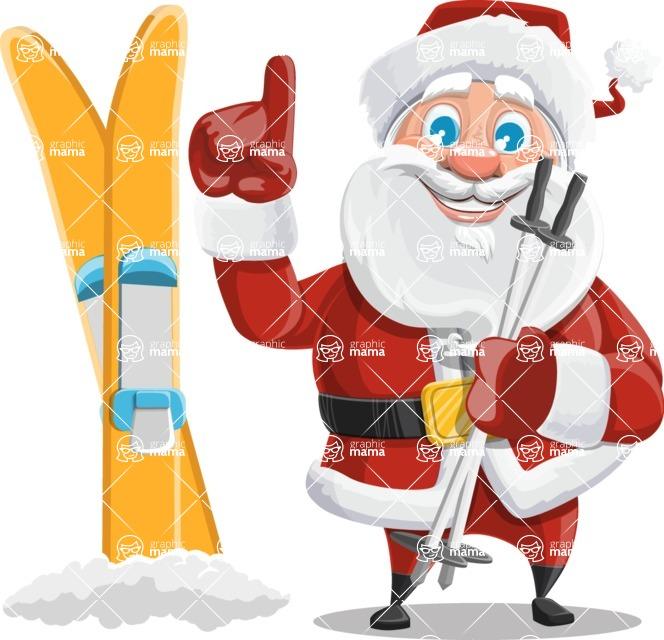Mr. Claus North-pole - Ski