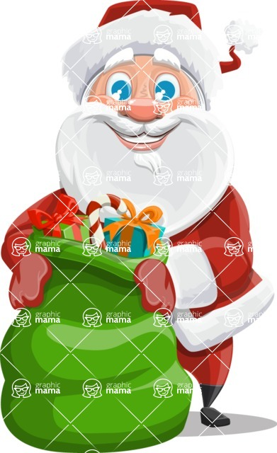 Mr. Claus North-pole - Sack With Gifts