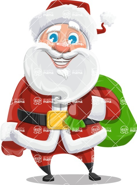 Mr. Claus North-pole - Sack With Gifts 2