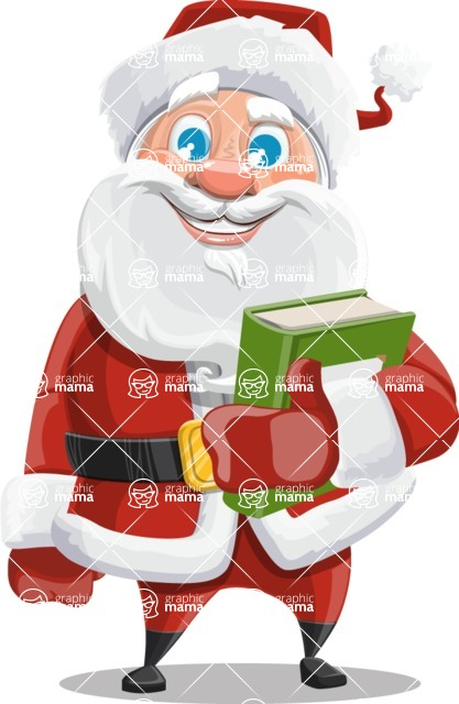 Mr. Claus North-pole - Book