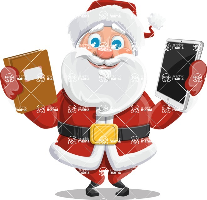 Mr. Claus North-pole - Book Or Tablet