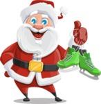 Mr. Claus North-pole - Skates