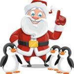 Mr. Claus North-pole - Penguins