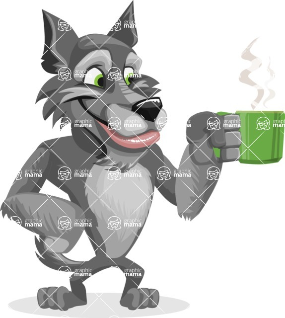 Wolfie Paws - Coffee