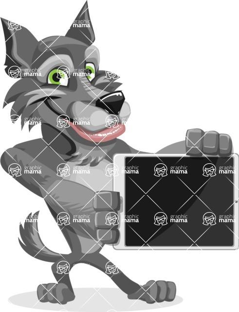 Wolfie Paws - iPad 2
