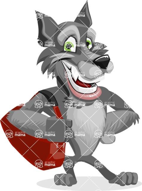 Wolfie Paws - Travel 2