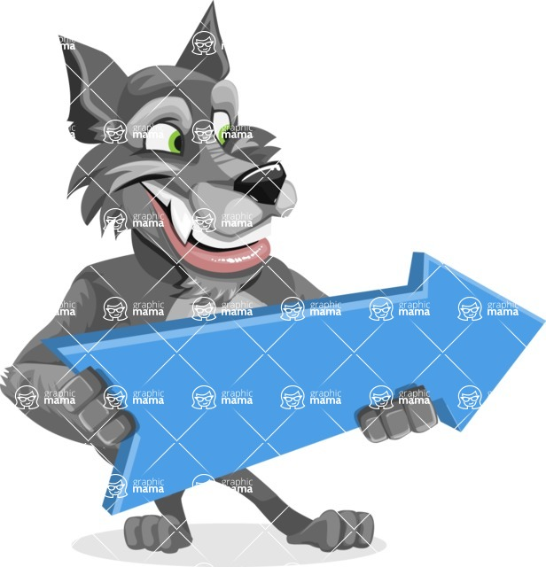 Wolfie Paws - Pointer 2