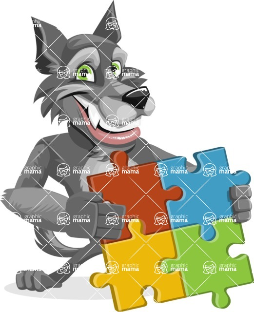 Wolfie Paws - Puzzle