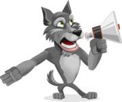 Wolfie Paws - Loudspeaker