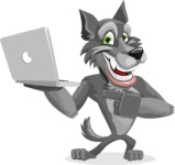 Wolfie Paws - Laptop 1