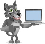 Wolfie Paws - Laptop 3
