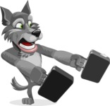 Wolfie Paws - Briefcase 3