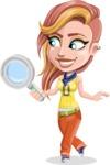 Dance Woman Vector Cartoon Character AKA Melissa - Search
