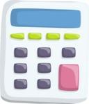 Vector Office Items Graphic Bundle - Item 16