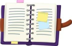 Vector Office Items Graphic Bundle - Item 21