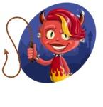 Darla the Devil Girl - Shape 4