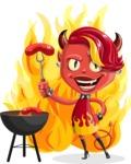 Darla the Devil Girl - Shape 7