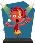 Darla the Devil Girl - Shape 8