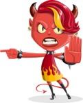 Darla the Devil Girl - Direct Attention 1
