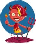 Darla the Devil Girl - Shape 11