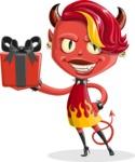 Darla the Devil Girl - Gift