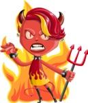 Darla the Devil Girl - Fire 2