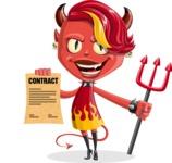Darla the Devil Girl - Contract