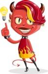 Darla the Devil Girl - Idea