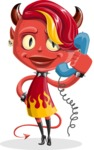 Darla the Devil Girl - Support