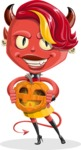 Darla the Devil Girl - Halloween