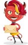 Darla the Devil Girl - Mail