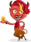 Darla the Devil Girl - Briefcase