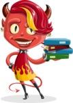 Darla the Devil Girl - Books