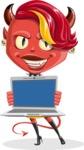 Darla the Devil Girl - Laptop 2