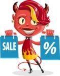Darla the Devil Girl - Sale 1