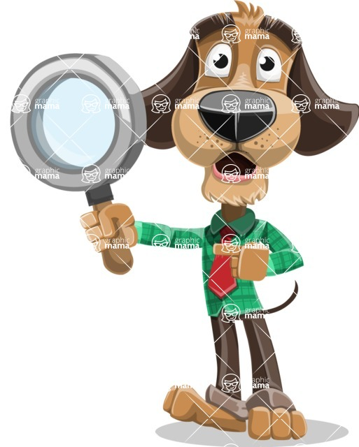Business Dog Cartoon Vector Character AKA Donny - Search