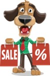 Donny the Competent Business Dog - Sale 2