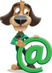 Donny the Competent Business Dog - Email