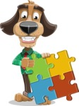 Donny the Competent Business Dog - Puzzle