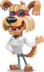Pinky Funk - The Cool Businessman - Sunglasses