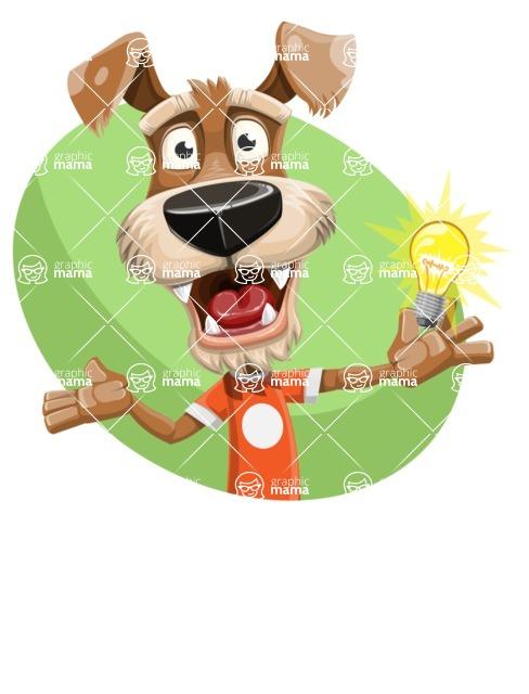 Sparky Jones - The Casual Dog Friend - Shape 1