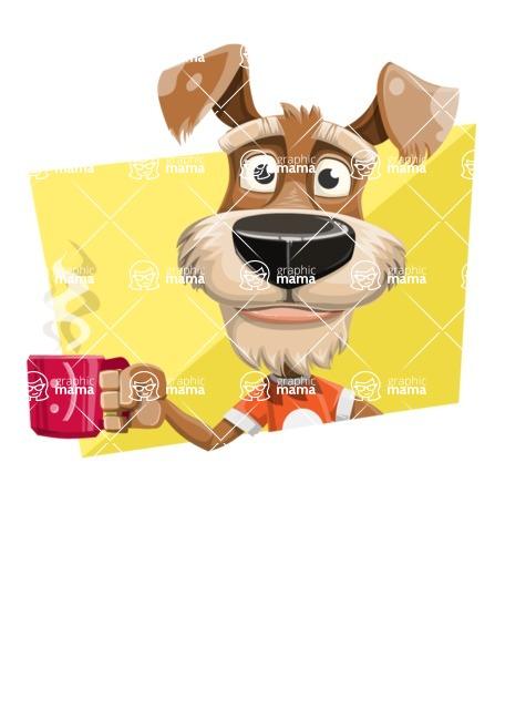 Sparky Jones - The Casual Dog Friend - Shape 4
