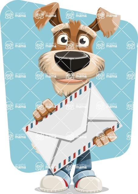 Sparky Jones - The Casual Dog Friend - Shape 8
