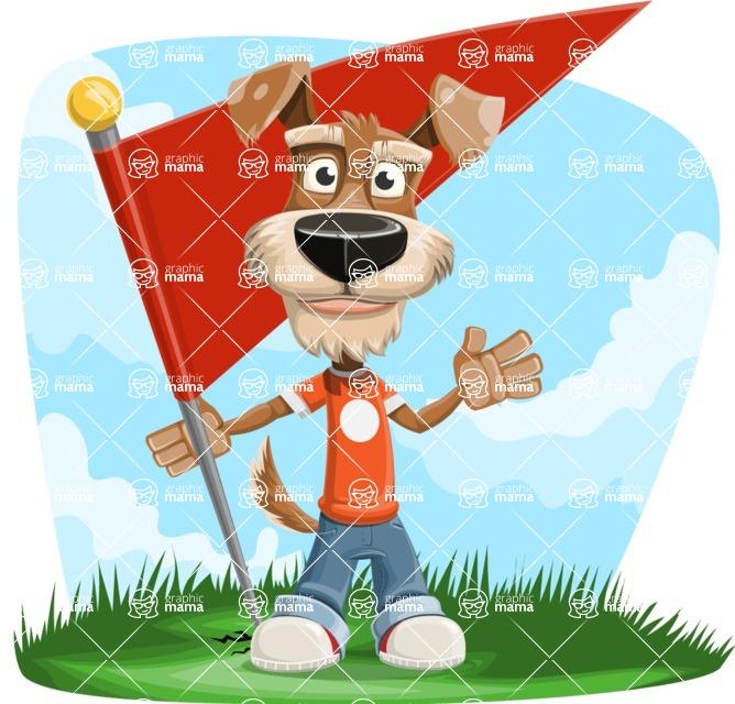 Sparky Jones - The Casual Dog Friend - Shape 9