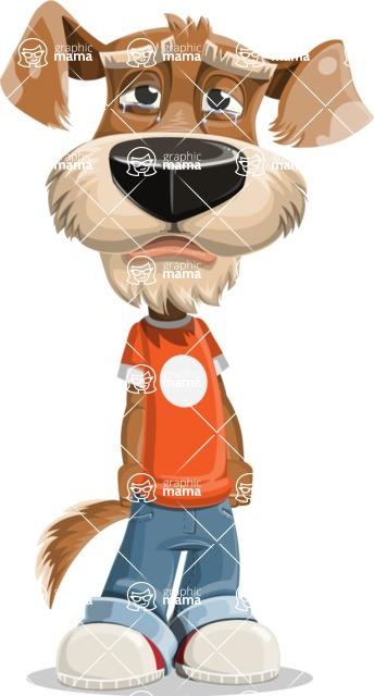 Sparky Jones - The Casual Dog Friend - Sad