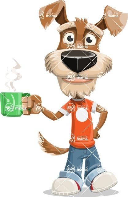 Sparky Jones - The Casual Dog Friend - Coffee