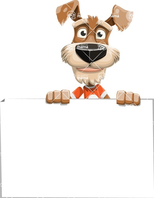 Sparky Jones - The Casual Dog Friend - Sign 6
