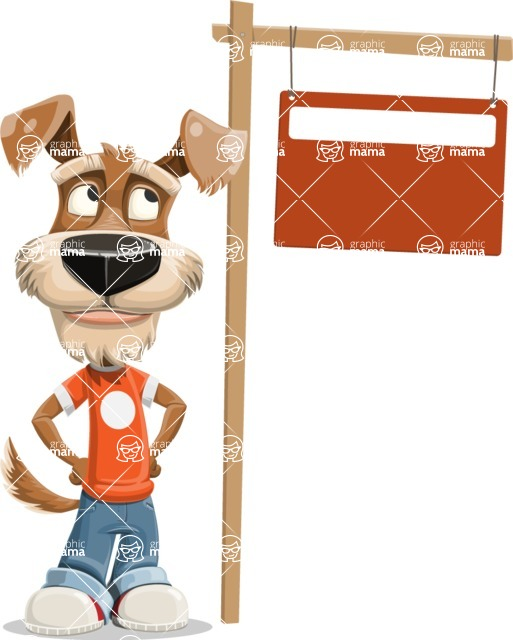 Sparky Jones - The Casual Dog Friend - Sign 9