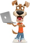 Sparky Jones - The Casual Dog Friend - Laptop 1